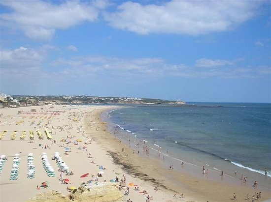 Hotel Algarve Casino: the beach
