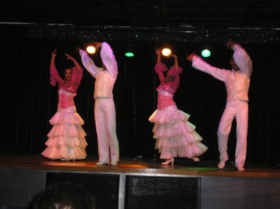 Cordial Mogan Playa: showtime
