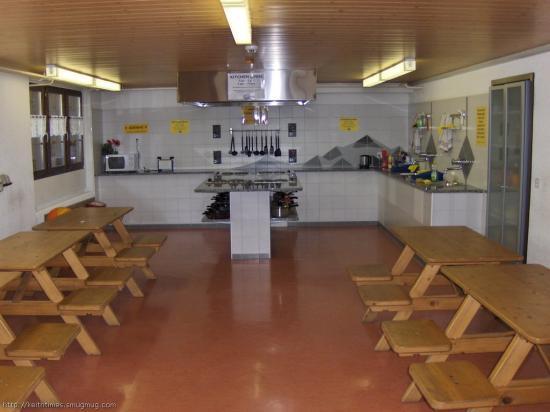 Camping Jungfrau : Camp Kitchen