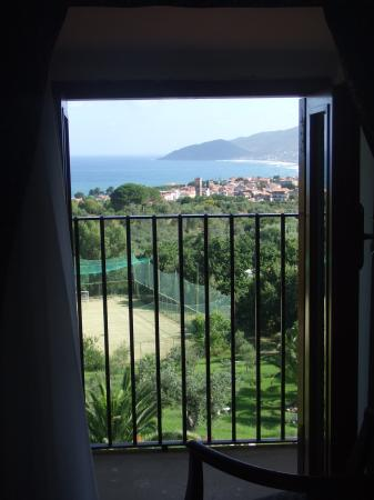 Hotel Hermitage Castellabate: View from room 24
