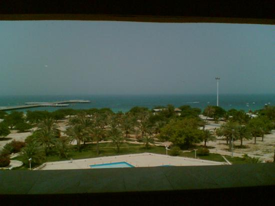 Shayan International Hotel: the view from our room