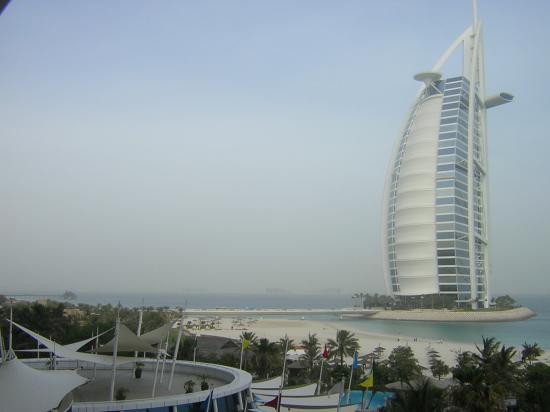 Jumeirah Beach Hotel: View from balcony