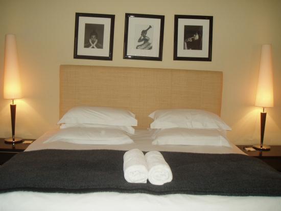 An African Villa : Bedroom