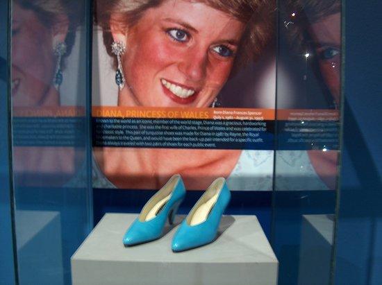 Bata Shoe Museum : Princess Diana's Shoes