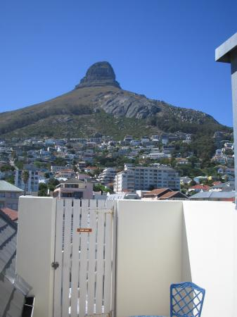 Bantry Bay Suite Hotel: View of Lion's Head and back deck of room
