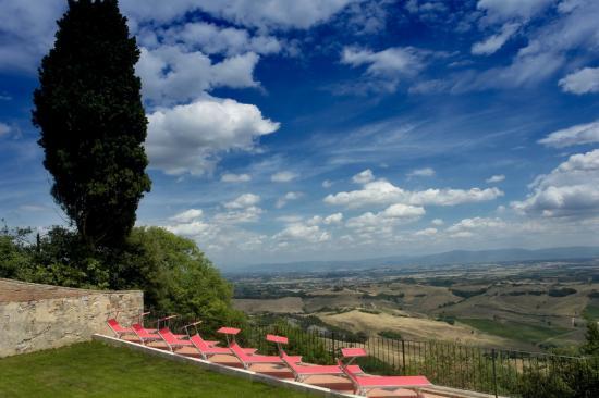 Residenza d'Epoca La Costa: Wohl das herrlichste Panorama der Toscana
