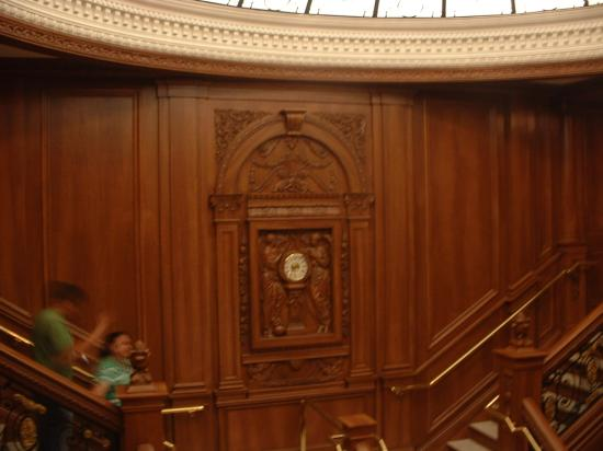 Titanic Museum: Another view of the clock.