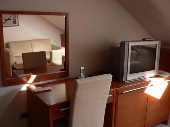 Hotel Le Petit Piaf : St Germain Room (lower floor of duplex)