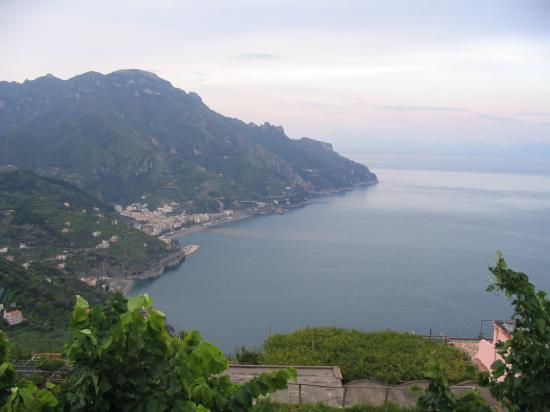Toro Hotel: view from Ravello
