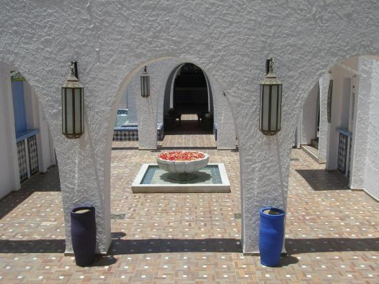 Club Med Agadir : entrance