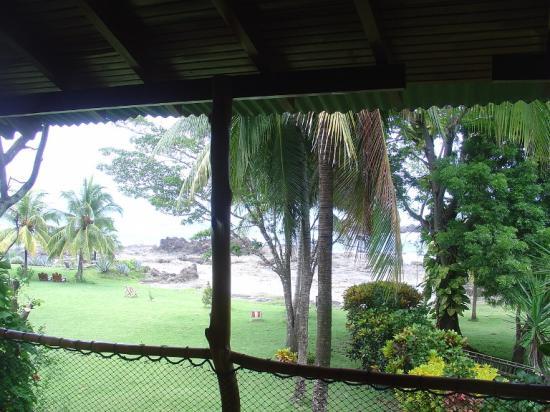 Hotel Amor de Mar: Casa Luna- Porch outside Main Room