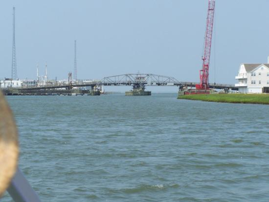 Captain Barry's BackBay Cruises : Chincoteague bridge