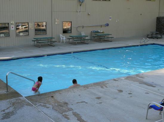 Cedar Lodge: La piscine