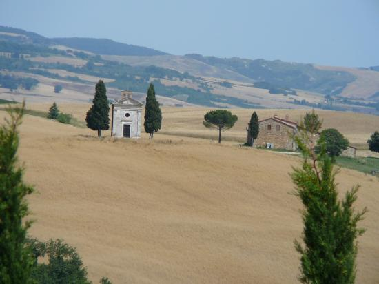 Palazzo Brandano: Tuscan scenery