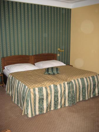 Hotel u Schnellu: the bed