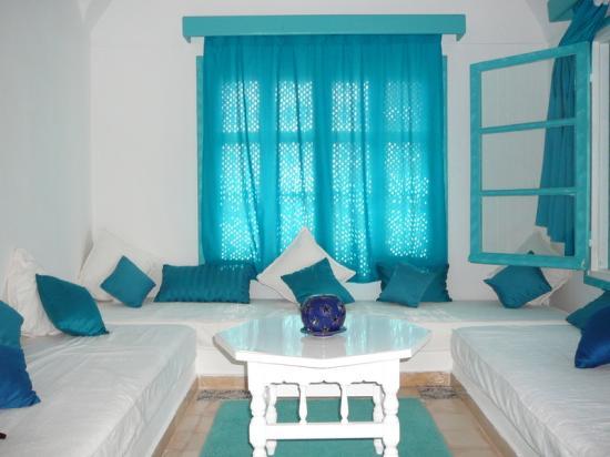 Residence Dar Sidi : il salottino della camera