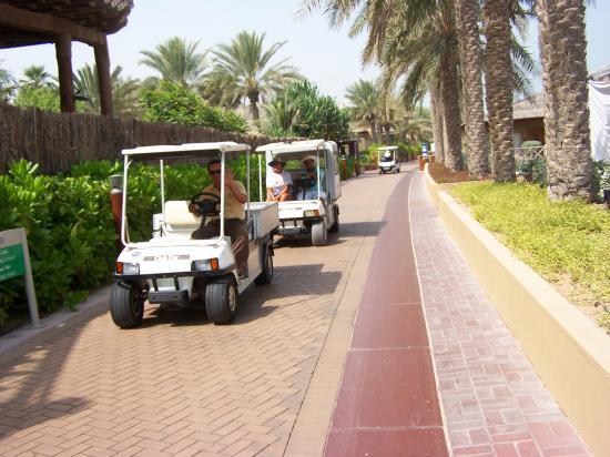 Jumeirah Beach Hotel: Great buggys..