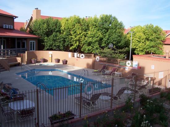 Pool at the Residence Inn Santa Fe