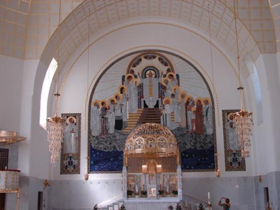 Kirche am Steinhof: Kirche Steinhof - altar