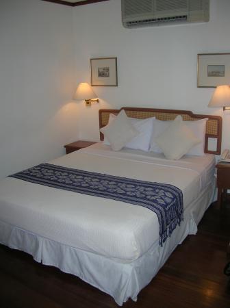 Perak Hotel: le lit confortable