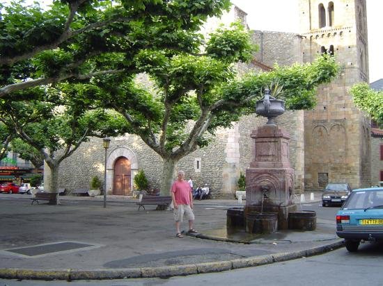 Town Square, Prades, France
