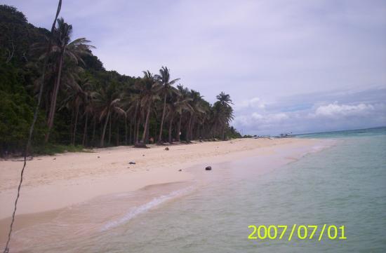 Yapak Beach (Puka Shell Beach): beautiful puka beach