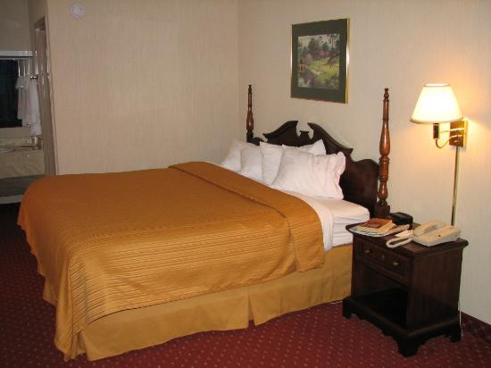 Quality Inn, Mount Airy: King bed room