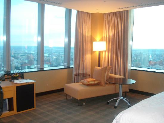 Hotel One Taichung: View of my room