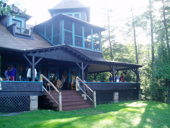 Blue Mountain Lake, estado de Nueva York: The Main House