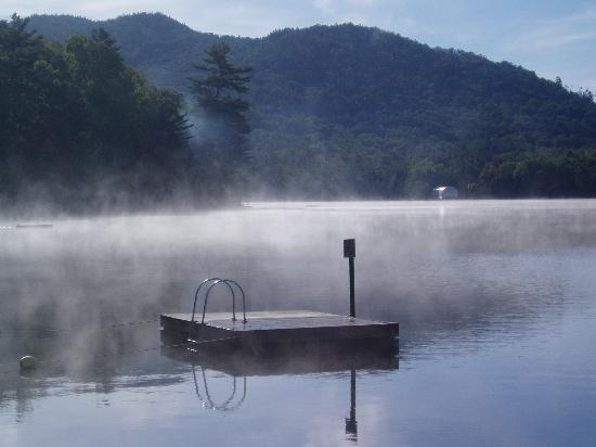 Hemlock Hall: Mist on the Lake