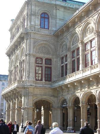 State Opera House : Outside of Opera House