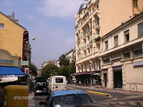 Hotel de la Buffa: Street view