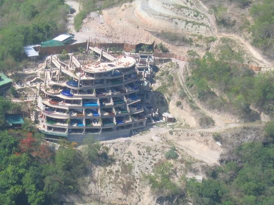 Jade Mtn from helicopter - Picture of Jade Mountain Resort