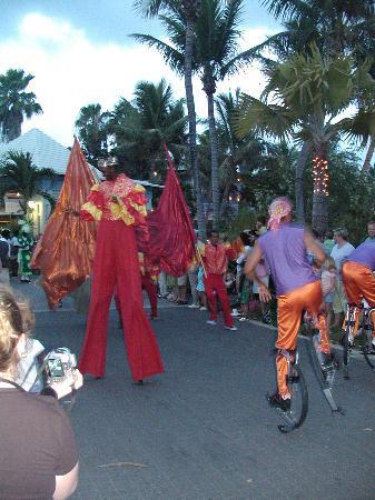 Beaches Turks & Caicos Resort Villages & Spa: Parade