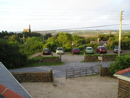 Kimberley Bed and Breakfast: View from upstairs room at Kimberley