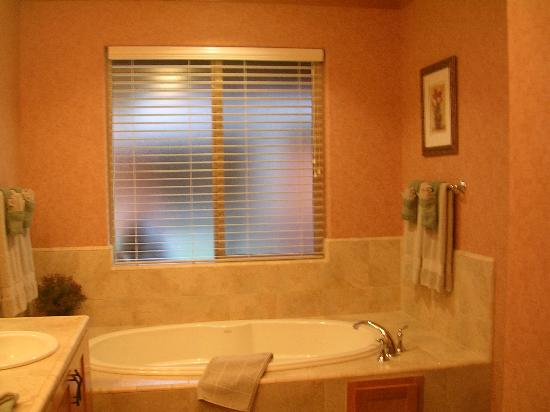 Bailey Creek Cottages: Tub