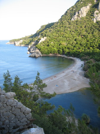 Myland Nature Hotel: Wonderful beach at Cirali/Olympos