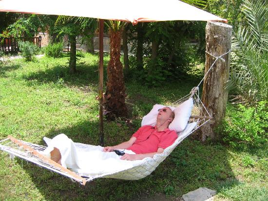 Myland Nature Hotel: Restful hammock to unwind
