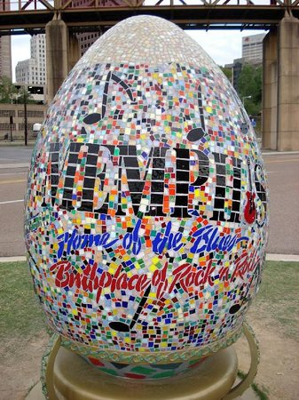 Memphis, TN: a big egg