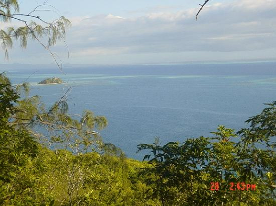Castaway Island Fiji: View from the lookout