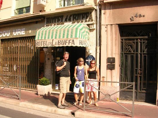 Hotel De La Buffa : Hotel entrance