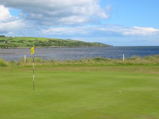 wigtownshire county golf club picture of the blue peter. Black Bedroom Furniture Sets. Home Design Ideas