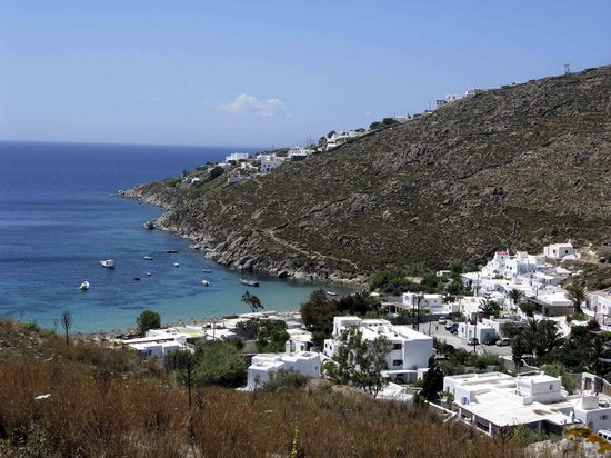 Mykonos, Greece: Psarou Bay