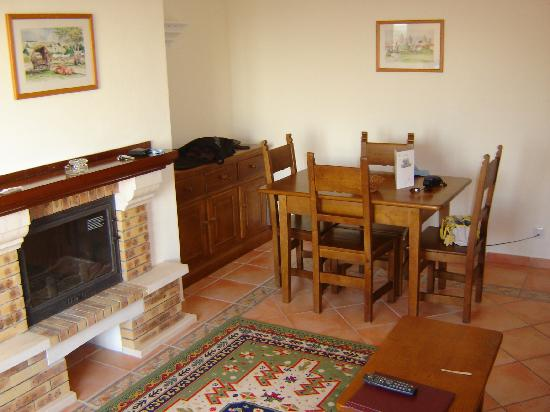 Colina da Lapa: The dining area