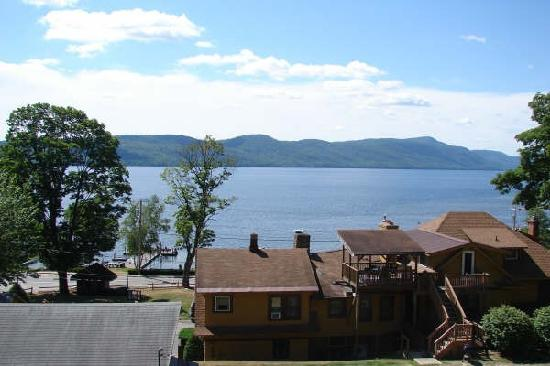 Trout House Village Resort: View from terrace