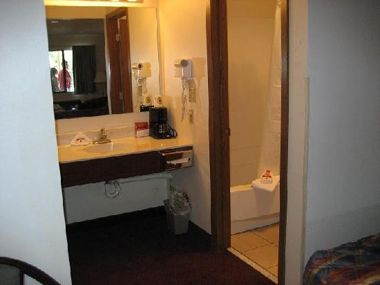 Super 8 Keystone/Mt. Rushmore: Sink/vanity in room