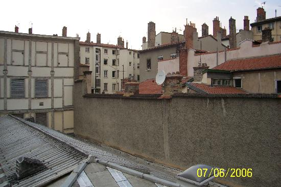 Le Lys Bleu: view from room on rooftops