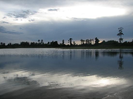 Grand Lake Resort: sunset pic
