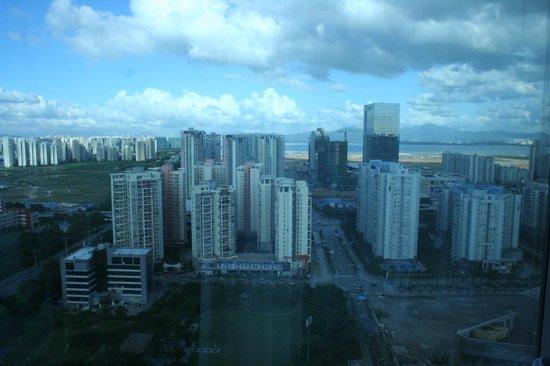 Holiday Inn Shenzhen Donghua: View west