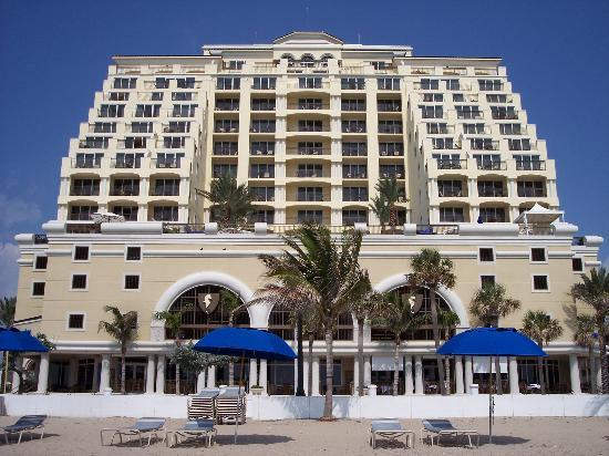 The Atlantic Hotel & Spa: View from the beach